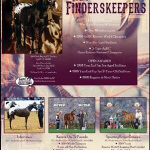 KCs Finderskeepers ApHC