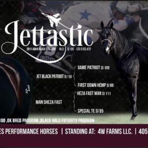 Jettastic  AQHA